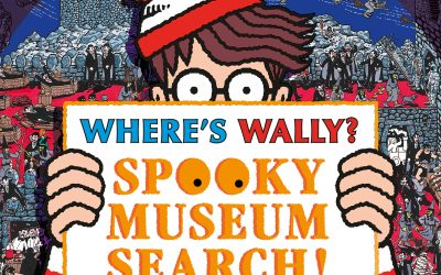 Where's Wally? Spooky Museum Search – find Wally in Tiverton Museum!