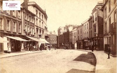 Street Scenes of Tiverton exhibition