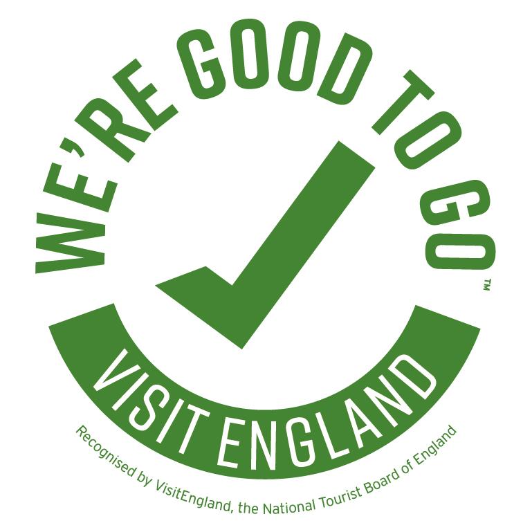 Visit England We're Good To Go logo